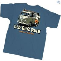Old Guys Rule Stand By Your Van T-Shirt - Size: M - Colour: INDIGO BLUE