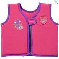 Speedo Kids Sea Squad Float Vest - Size: 1-2 - Colour: PINK-PURPLE