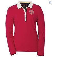Toggi Lacey Ladies Rugby Shirt - Size: 8 - Colour: Red