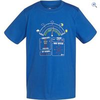 Hi Gear Hamilton Kids Tee - Size: 9-10 - Colour: Blue
