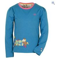 Toggi Foal Childrens Long Sleeve Top - Size: 3-4 - Colour: Topaz