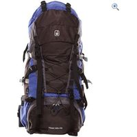 Hi Gear Tibet 65 +10 Rucksack - Colour: BLUE-GRAPHITE