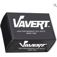 Vavert 20 x 1 1/8 Presta Innertube - Colour: Black