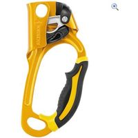 Petzl Ascension Right-Handed Rope Ascender - Colour: Yellow