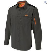 Bear Grylls by Craghoppers Mens Bear Treck Long-Sleeved Shirt - Size: XL - Colour: Black Pepper