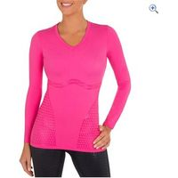Shock Absorber Ultimate Body Support Compression Long Sleeved Top - Size: L - Colour: Pink