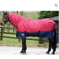 Masta Avante 170 Fixed Neck Turnout Rug - Size: 4-9 - Colour: Red-Navy