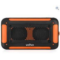 Veho Vecto Wireless Water Resistant Speaker/MP3 Player/Charger - Colour: Orange