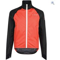Dare2b AEP Chaser Mens Waterproof Cycling Jacket - Size: M - Colour: FIERY RED-BLACK