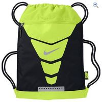 Nike Vapor Gym Sack - Colour: BLK-VOLT-SILVER