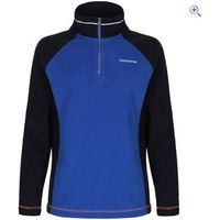 Craghoppers Union Half-Zip Kids Microfleece - Size: 7-8 - Colour: NAVY-COBALT