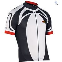 Northwave Logo SS Jersey - Size: L - Colour: Black - White