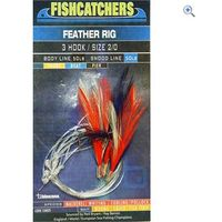 Bluezone 3 Hook Feather Rig (2/0)