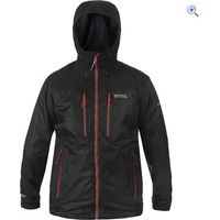 Regatta Mens Cross Penine Waterproof Jacket - Size: XL - Colour: Black
