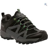 Regatta Gatlin Low Mens Walking Shoe - Size: 9 - Colour: Black / Green