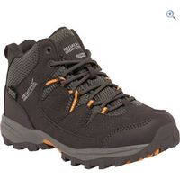 Regatta Holcombe Mid Jnr Walking Boot - Size: 2 - Colour: BRIAR-GOLD