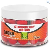 Rod Hutchinson Fluoro Pop Ups 15mm, Strawberry Cream