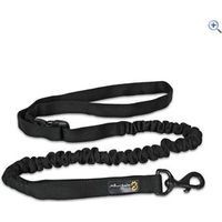 Mountain Paws Shock Absorber Dog Lead - Colour: Black