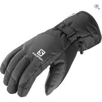 Salomon Mens Force Dry Gloves - Size: M - Colour: Black