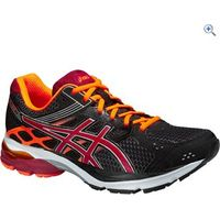 Asics Gel Pulse 7 Mens Running Shoe - Size: 12 - Colour: BLK-RUBY-ORANGE
