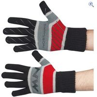 Northwave Corporate Long Cycling Gloves - Colour: Black / Grey