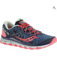 Saucony Nomad TR Womens Trail Running Shoe - Size: 8 - Colour: BLUE-NAVY