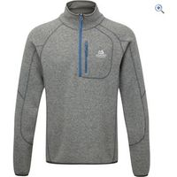 Mountain Equipment Mens Chamonix Zip Sweater - Size: XXL - Colour: STEEL GREY-BLUE