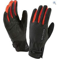 SealSkinz Womens All Weather Cycle XP Gloves - Size: XS - Colour: Black / Red