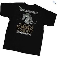 Old Guys Rule Shed Wars T-Shirt - Size: XL - Colour: Black