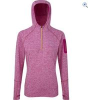 Ronhill Aspiration Victory Hoodie - Size: 10 - Colour: MAGEN-FLUO YELL