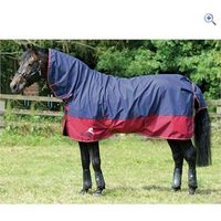 Masta Avante Light Fixed Neck Turnout Rug - Size: 4-6 - Colour: NAVY-RED