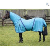 Masta Zing Fly Mesh Rug with Fixed Neck - Size: 4-6 - Colour: Blue