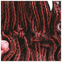 Cottage Craft Hay Net - Large - Colour: Black / Red
