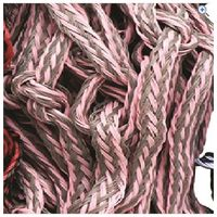 Cottage Craft Hay Net - Large - Colour: Grey Pink