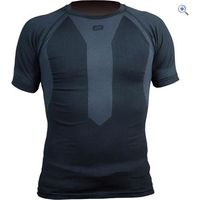 Polaris Torsion S/S Baselayer Shirt - Size: XL-2X - Colour: Black / Charcoal