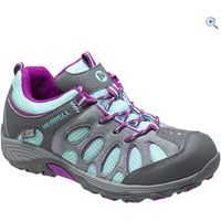 Merrell Childrens Chameleon Low Waterproof Sneaker - Size: 4 - Colour: BLUE-PURPLE