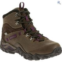 Merrell Womens Chameleon Shift Traveller Mid Waterproof Hiking Boot - Size: 4 - Colour: Olive Mix