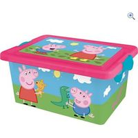 Peppa Pig Storage Box 7L - Colour: PEPPA PIG