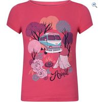 Animal Betsy Bus Kids Tee (Sizes 2-6) - Size: 3-4 - Colour: RASPBERRY PINK