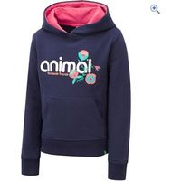 Animal Mollie Mai Kids Hoody (Sizes 2-6) - Size: 5-6 - Colour: MIDNIGHT BLUE