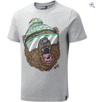 Animal Kids Yogi Tee - Size: 9-10 - Colour: Grey Marl