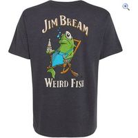 Weird Fish Jim Bream T-Shirt - Size: XXL - Colour: EBONY MARL