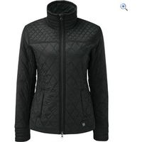 Noble Outfitters Womens Warmup Quilted Jacket - Size: XL - Colour: Black