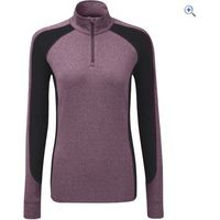 Noble Outfitters Lauren Womens 1/4 Zip Mock - Size: L - Colour: Deep Red