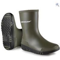 Dunlop Kids Mini Wellington Boot - Size: 26 - Colour: Green