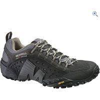 Merrell Intercept Mens Shoes - Size: 9.5 - Colour: SMOOTH BLACK