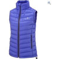 Hi Gear Womens Packlite Down Gilet - Size: 14 - Colour: Cornflower
