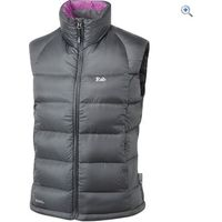 Rab Womens Neutrino Vest - Size: 14 - Colour: Grey And Black