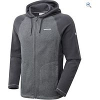 Craghoppers Mens Union Hooded Fleece Jacket - Size: XL - Colour: Black Pepper