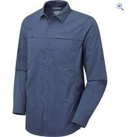 Craghoppers Kiwi Trek Mens Long-Sleeved Shirt - Size: XXL - Colour: FADED INDIGO